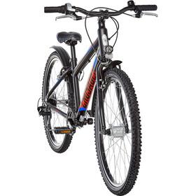 Puky Crusader 24-8 Bicicleta Aluminio Active Ligero Niños, black